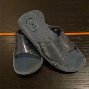 Louis Vuitton men's rubber slides